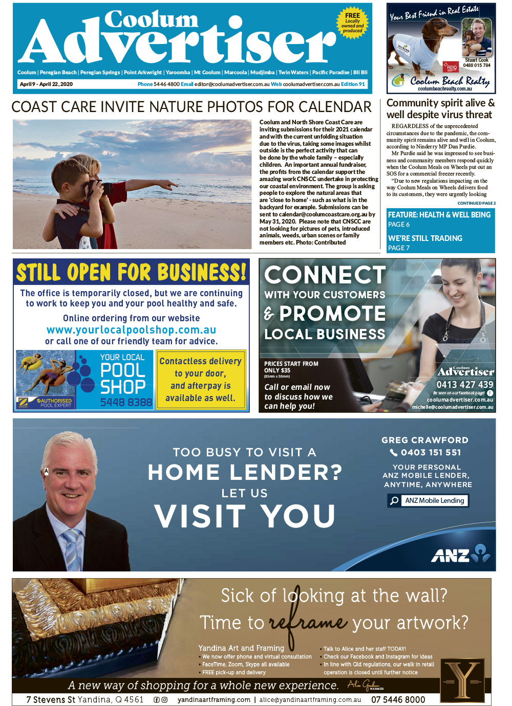 Coolum April 9-2020-issue91.indd